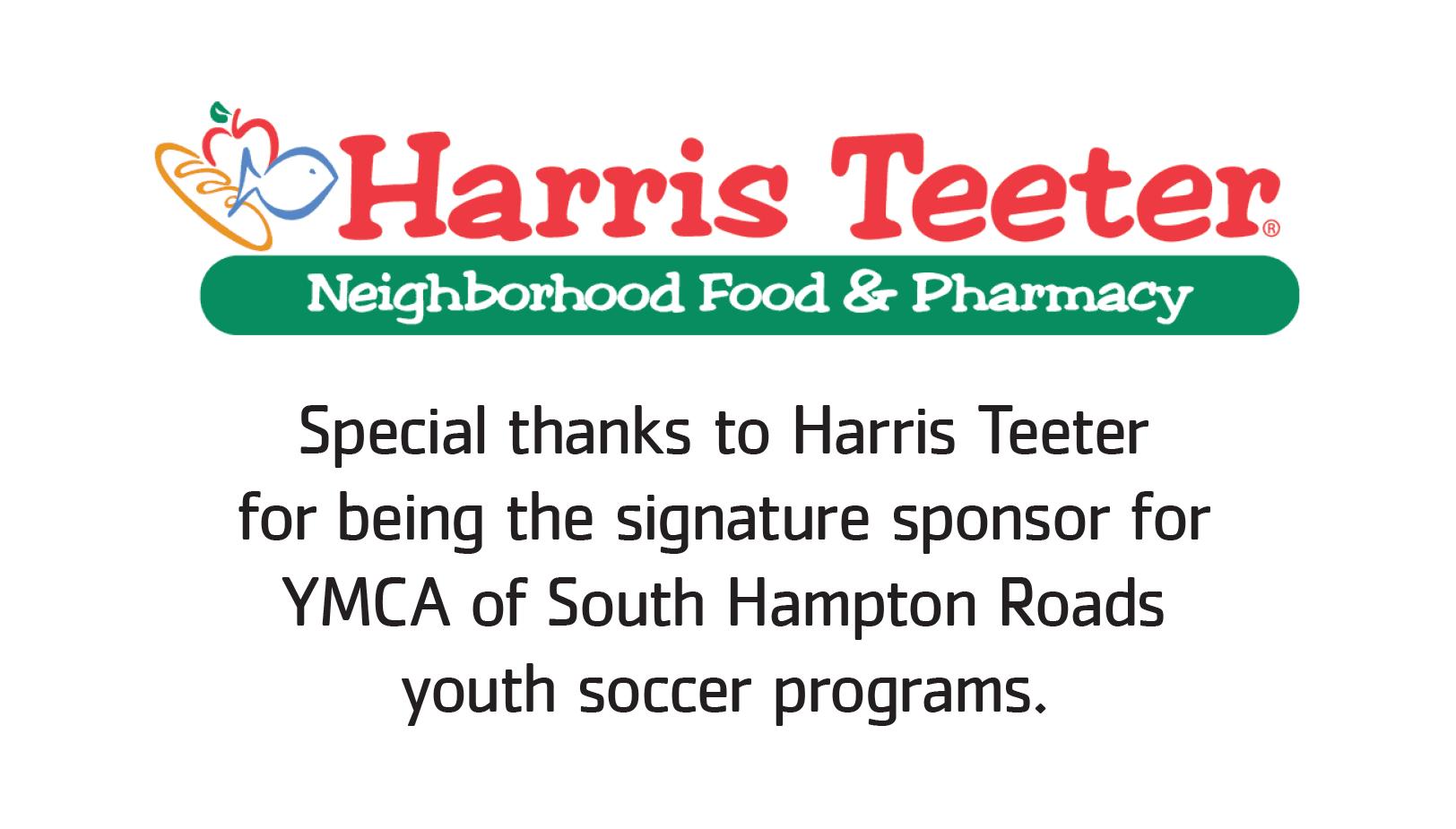 Thank you, Harris Teeter!