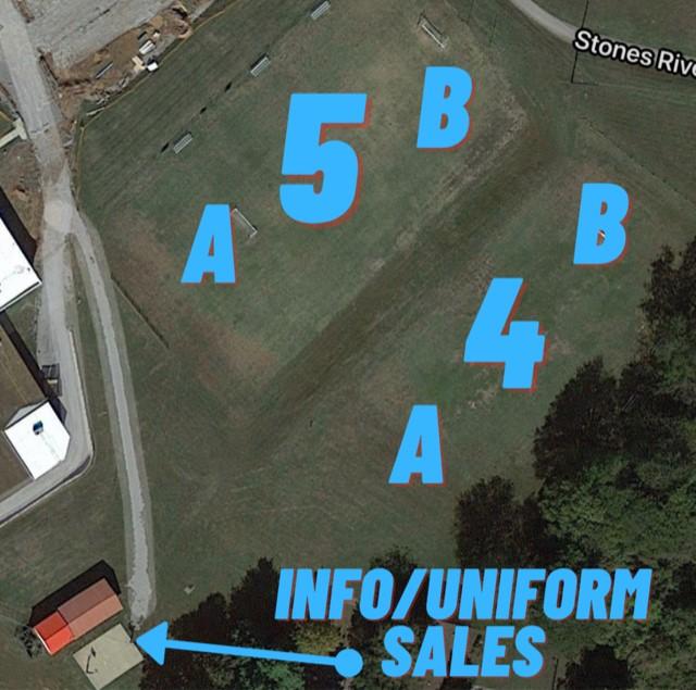 YMCA Soccer Field Map 4-5