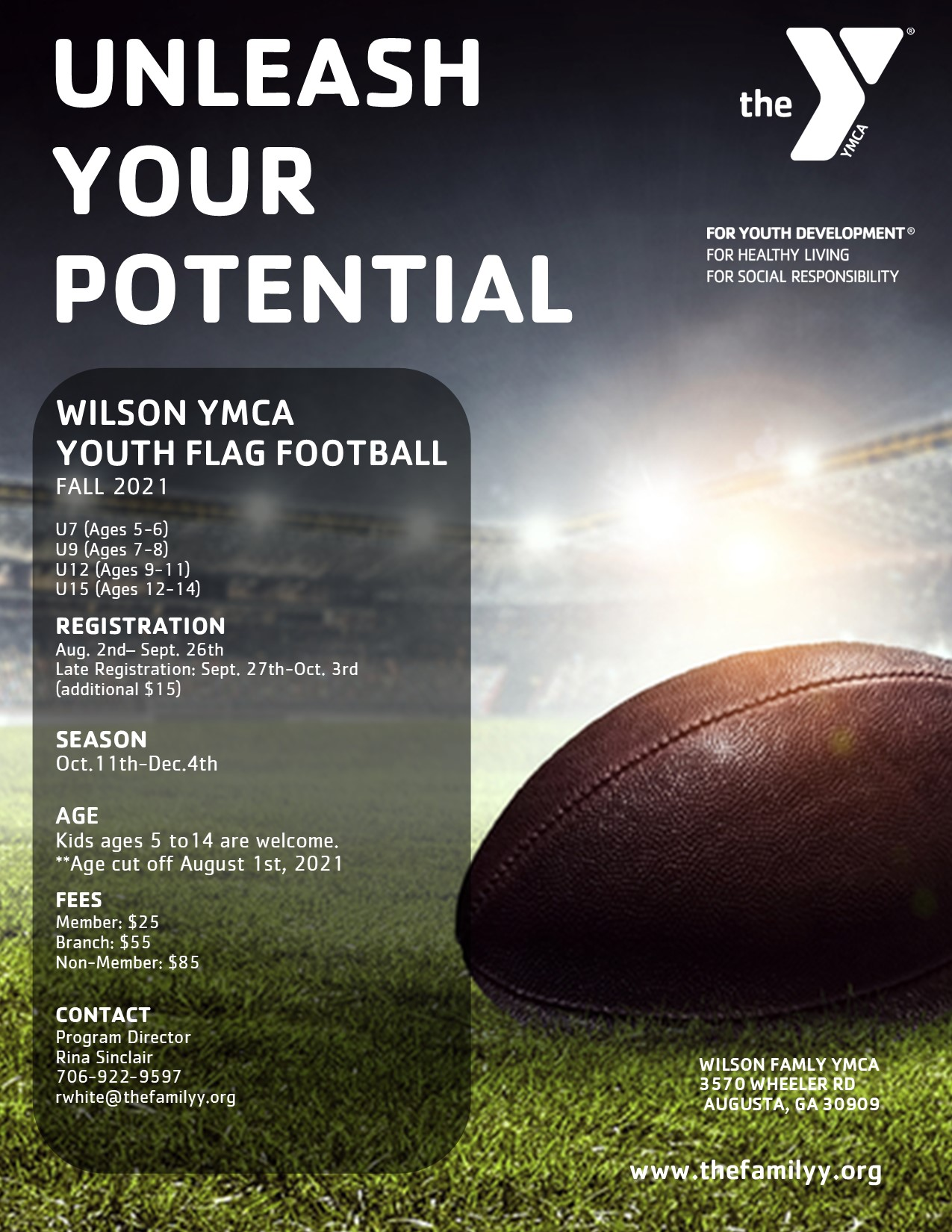 Flag Football Registration is open