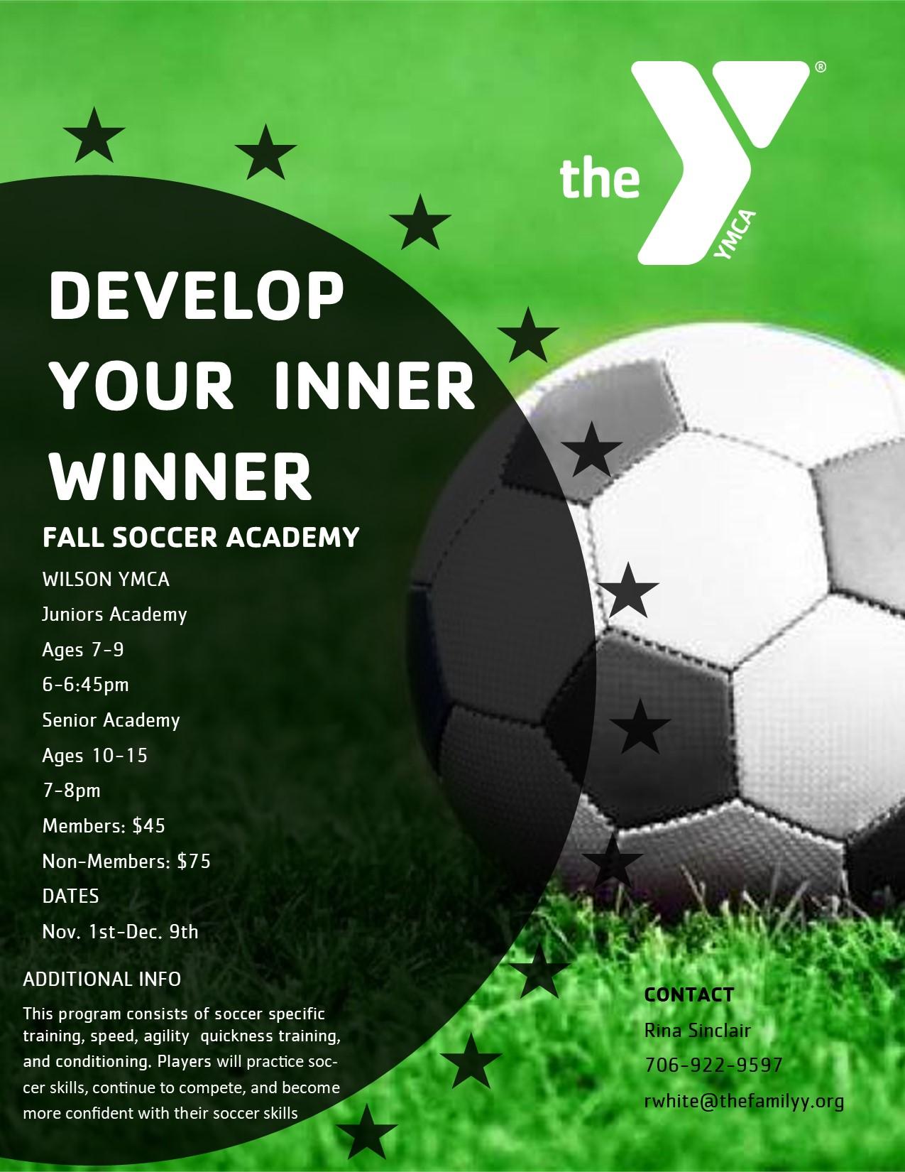 2021 Fall Youth Soccer Academy